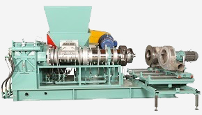 Extruder, Strainer & Pelletizer