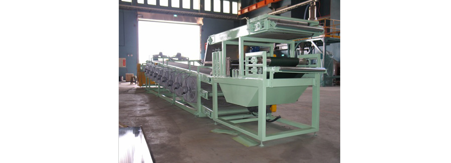 3 Layer Rubber Sheet Cooling Conveyor